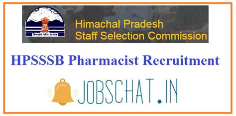 Pharmacist Vacancy by Hpsssb Pharmacist Recruitment 2019 Hp Pharmacist Vacancy