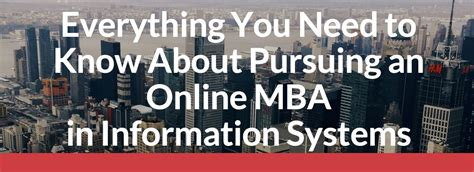 mba  information systems