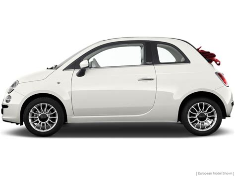 image 2013 fiat 500 2 door convertible lounge side
