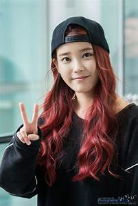 Which one of these idols rocked red hair?   K-Pop Amino