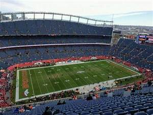 Empower Field At Mile High Stadium Section 512 Home Of