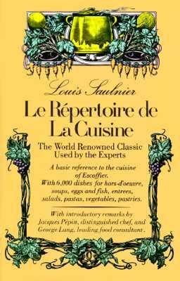 le repertoire de la cuisine saulnier 9780812051087