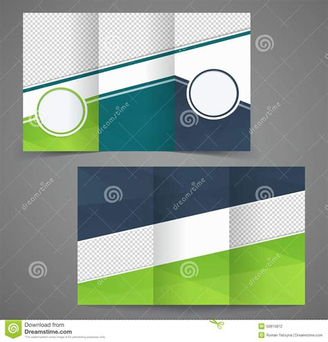 2 Sided Brochure Templates by Tri Fold Business Brochure Template Two Sided Template