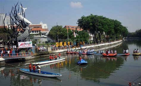 sungai kalimas  depan jadi obyek wisata air
