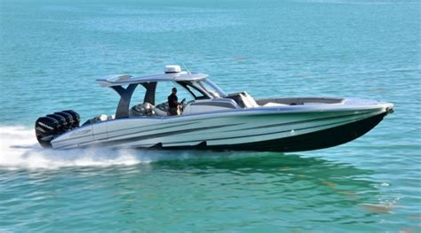 Center Console Performance Boats by Mti Still Rolling With V 42 Boats