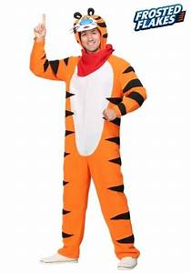 Rubies Costume Size Chart Frosted Flakes Tony The Tiger Costume For Adults