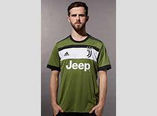 Green Juventus Shirt 20172018 New Juve 3rd Jersey 1718