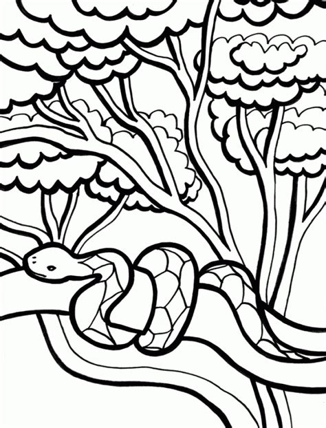 Get This Printable Snake Coloring Pages 01827