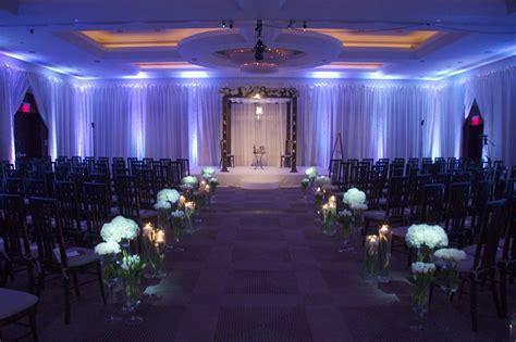 cost of uplighting white uplighting at the park hyatt washington dc wedding ceremony