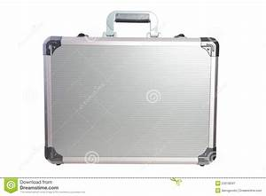Metal briefcase stock image. Image of luggage, briefcase ...