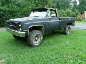 Purchase Used 1984 Chevy 1500 4x4 Regular Cab Long Bed