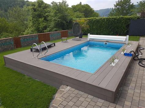 Poollandschaft Für Zuhause by Future Pool Power S Rechteck Pool G 252 Nstig Kaufen
