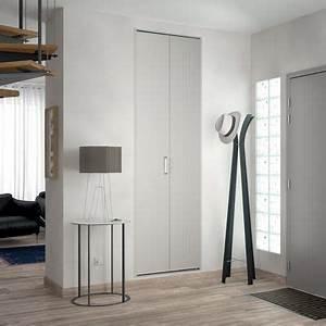 Porte Placard Pliante : porte de placard pliante blanche kazed 70 x 205 cm castorama ~ Farleysfitness.com Idées de Décoration