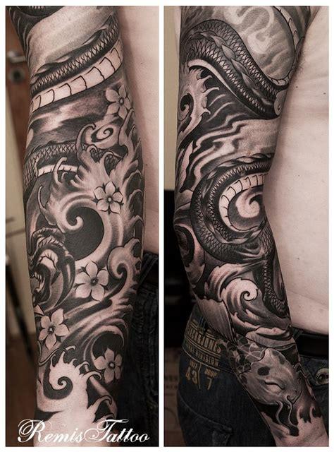 japanese dragon tattoo black  grey  remistattoo  deviantart