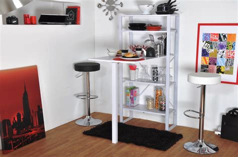 meuble bar rangement cuisine buffet de cuisine 120 cm les tendances table de bar avec table de