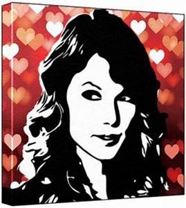 Taylor Swift - Pop Art Print (2-Colour Black & White; Red ...