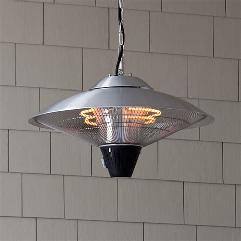 sense hanging stainless steel halogen patio heater