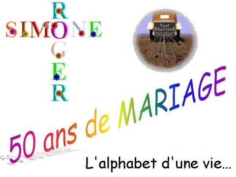 50 de mariage les 50 ans de mariage de et roger