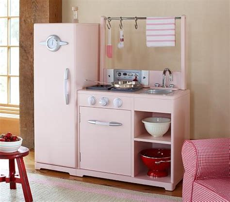 pottery barn play kitchen pink all in 1 retro kitchen pottery barn