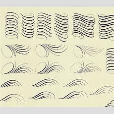 Flourish Exercises? Calligraphy