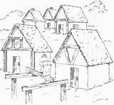Pilgrim sketch template