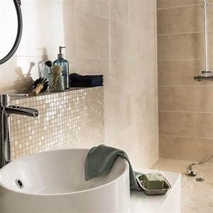 Salle De Bain Beige : peinture carrelage mural salle de bain 4 salle de bain ~ Dailycaller-alerts.com Idées de Décoration