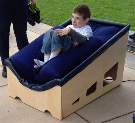 they invented a sensory chair that gives with autism