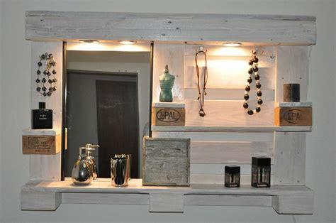 badezimmer regal aus paletten palettenm 246 bel spiegelschrank woody paletten design