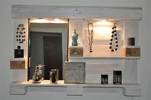 Schminktisch Aus Paletten : palettenm bel spiegelschrank no1 wei schminktisch paletten designs spiegelschrank und ~ Markanthonyermac.com Haus und Dekorationen