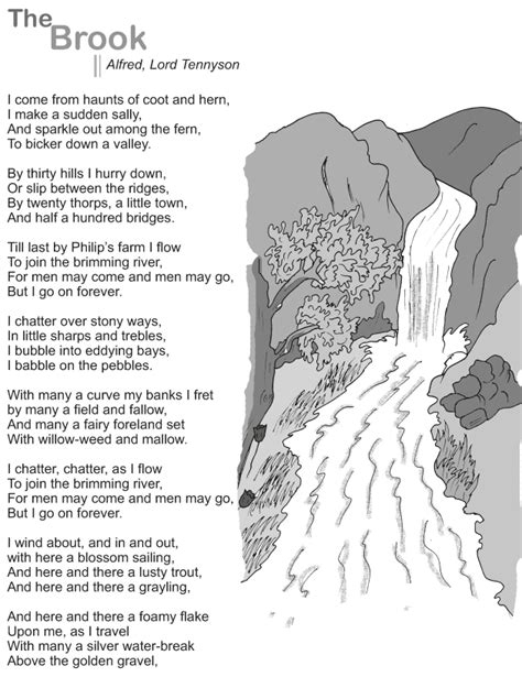grade  reading lesson  poetry  brook