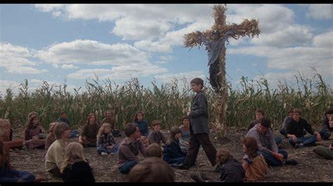 outlander    woman children   corn