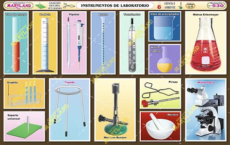 530 instrumentos de laboratorio maryland