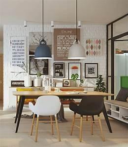 Hängeleuchten Esstisch Modern : skandinavisches design im esszimmer 50 inspirierende ideen f r einen gem tlichen und ~ Orissabook.com Haus und Dekorationen