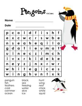 penguin word search  gladys alfaro moisa teachers pay