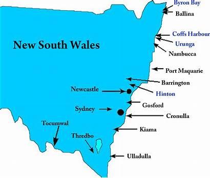 Nsw Map Farm Australian County Google Location