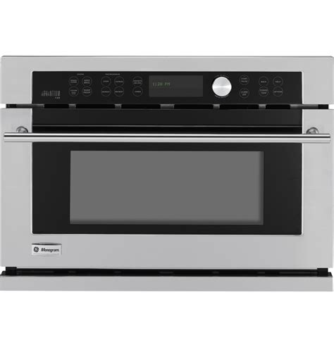 ge monogram built  oven  advantium speedcook technology  zsckss ge appliances