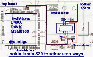 Nokia Lumia 820 Touchscreen Problem Repair Jumper