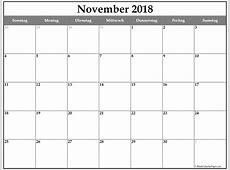 November 2018 kalender kalender 2018