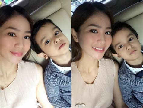 ada foto 2 anak di instagram bunga zainal netizen