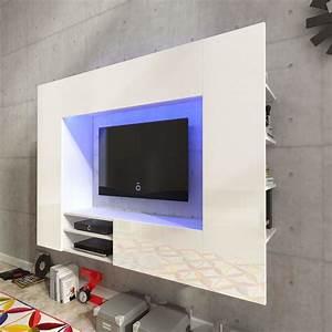 Tv Media Wand : hochglanz wohnwand mediawand anbauwand schrankwand led tv wand wei schwarz ebay ~ Sanjose-hotels-ca.com Haus und Dekorationen