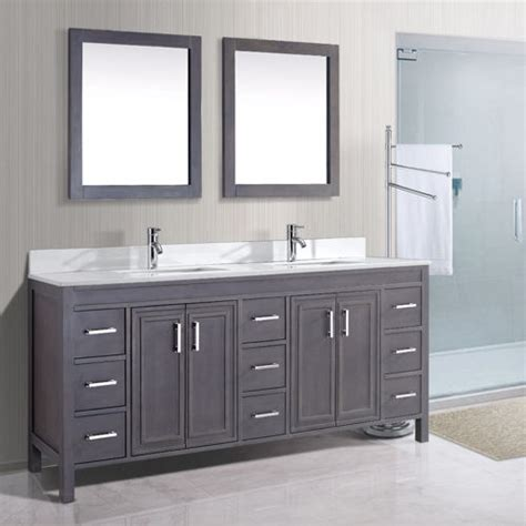 costco vanities double sink bathroom best of gray double vanity french sink charcoal
