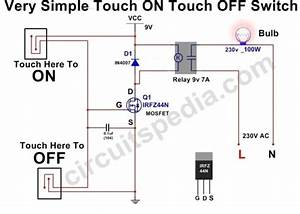 On Off Switch Circuit