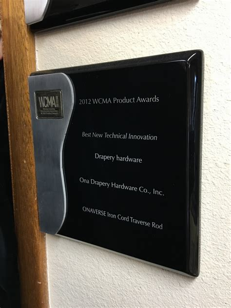 Drapery Hardware Inc - awards ona drapery hardware