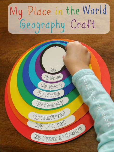 my place in the world geography craft review still 548 | geography craft activity kids