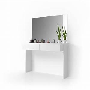 Meuble De Maquillage : meuble de maquillage azur coiffeuse commode table de maquillage miroir viola ~ Teatrodelosmanantiales.com Idées de Décoration