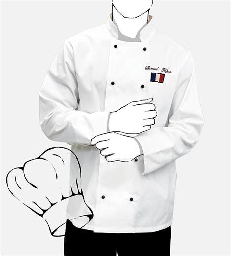 veste de cuisine personnalis 233 e mestenuesperso