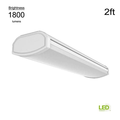 commercial electric  profile  ft  lumens