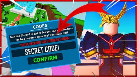 boku   hero remastered codes strucidcodescom