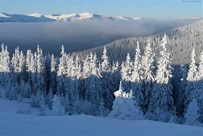 Winter Ukrainian Carpathians Fairytale Ukraine Feed Subscribing