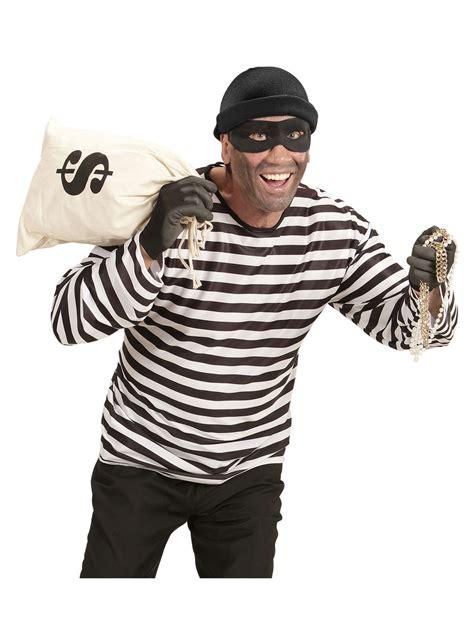 disfraz de ladron ambicioso  hombre entrega